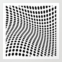 wave Art Prints featuring Wave by fly fly away