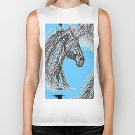 """Unicorn Pattern"" Biker Tank"
