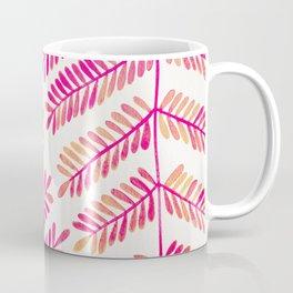 Leaflets – Pink Ombré Palette Coffee Mug