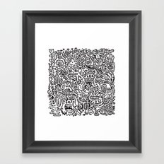 Mishmash Framed Art Print