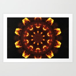 The Back Burner Art Print