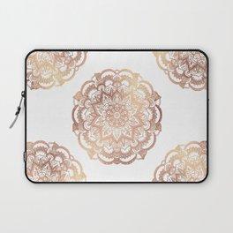 Mandala Rose-Gold Shine Laptop Sleeve
