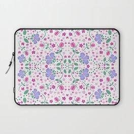 Purple Floral Laptop Sleeve