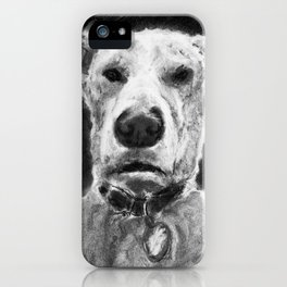 Temo - Charcoal iPhone Case