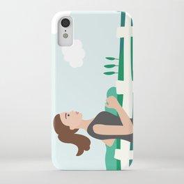 Fresh Air Runner iPhone Case