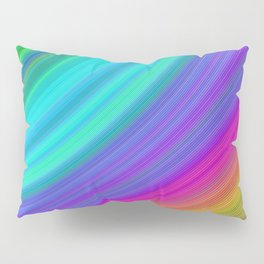 Rainbow Pillow Sham