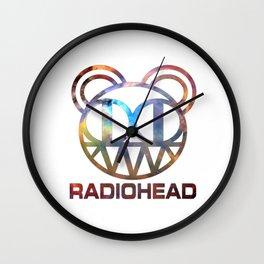 RD custom galaxy logo Wall Clock