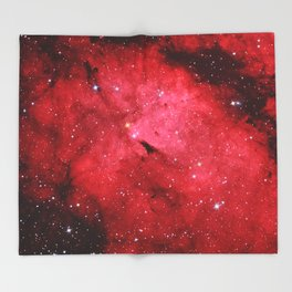 Emission Nebula Throw Blanket