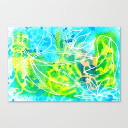 Green Aqua Canvas Print