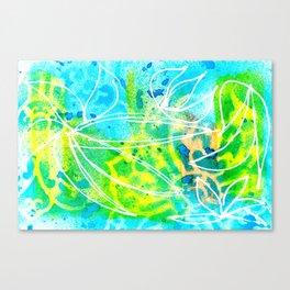 Green Aqua Canvas Print