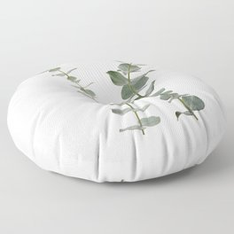Eucalyptus Branches I Floor Pillow
