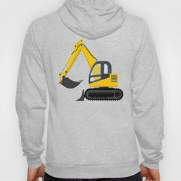 Yellow Excavator Hoody