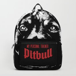Pitbull My Personal Trainer Backpack