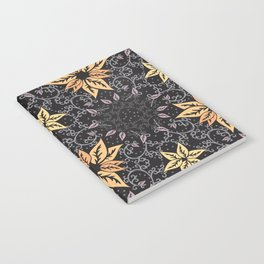 Curly autumn Notebook