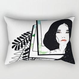 Images of yesterday Rectangular Pillow