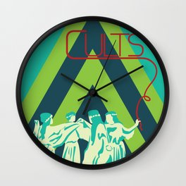 Join the Cult Wall Clock