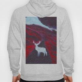 White Deer Hoody
