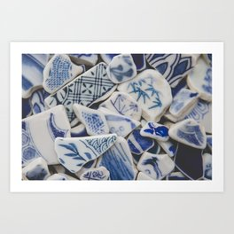 Japanese Sea Pottery - Collection I Art Print