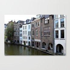 Water and bricks Canvas Print