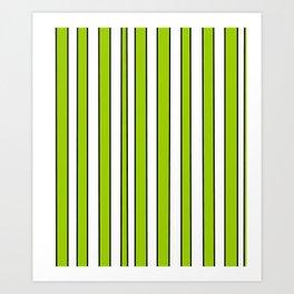 Strips 7-line,band,striped,zebra,tira,linea,rayas,rasguno,rayado. Art Print