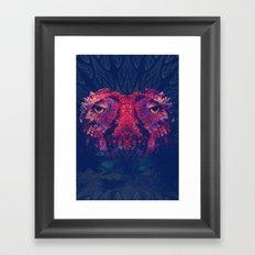 OWLS - Psychedelic | Art | Movement | Pop Art | Abstract | Animals | 70's | Trip  Framed Art Print