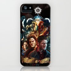 Family Don't End with Blood Slim Case iPhone (5, 5s)