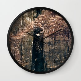 Tales from the trees 1 Wall Clock