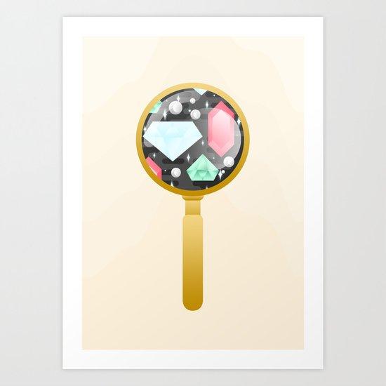 Hidden Gems Art Print