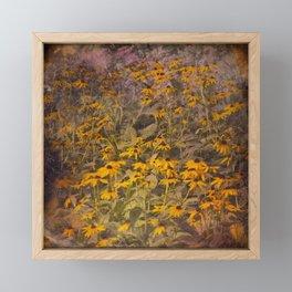 Yellow Jungle Framed Mini Art Print