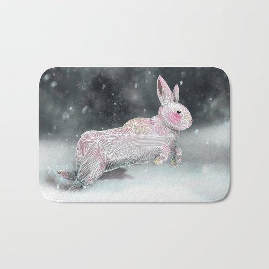 White Rabbit Bath Mat
