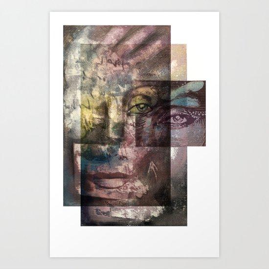 Gravure 02 Art Print
