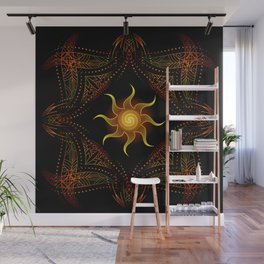 sun energy. part one Wall Mural