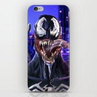 venom iPhone & iPod Skins featuring VENOM by corverez