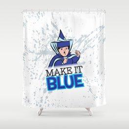 "Merryweather ""Make It Blue"" / Sleeping Beauty Shower Curtain"