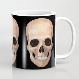 Smiling Skull Coffee Mug