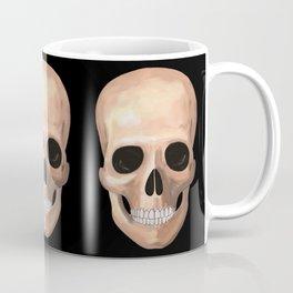 Smiling Skull Coffee Mug