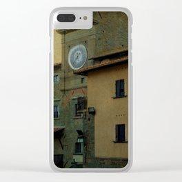 Cortona (Italy) Clear iPhone Case