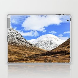 Spring in Glen Etive, Scottish highlands Laptop & iPad Skin