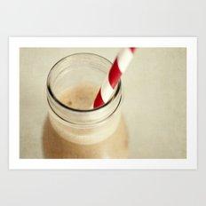 coffee addiction Art Print