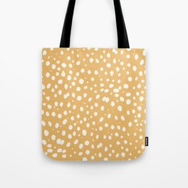 LEOPARD YELLOW Tote Bag