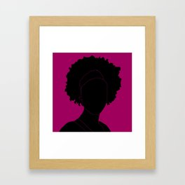 red-violet Framed Art Print