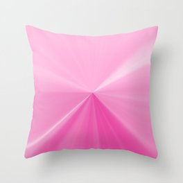 Pink Bubble Gum Pinch Point Throw Pillow