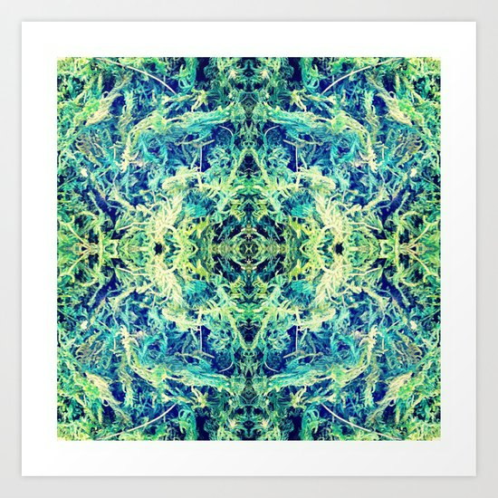 GRASS GODDESS Art Print