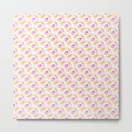 0307 Fluffy pattern ... Metal Print