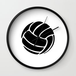 Volleyball Ideology Wall Clock