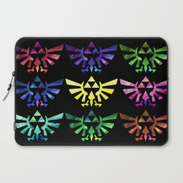 The Legend of Zelda Triforce 9 Laptop Sleeve