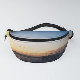 Airport Sunset Fanny Pack