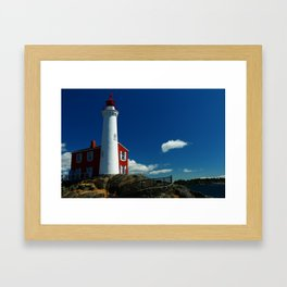 Fisgard Lighthouse Framed Art Print