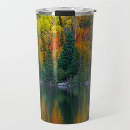 Reflections of Autumn Travel Mug