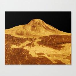 A Venusian Landscape Canvas Print